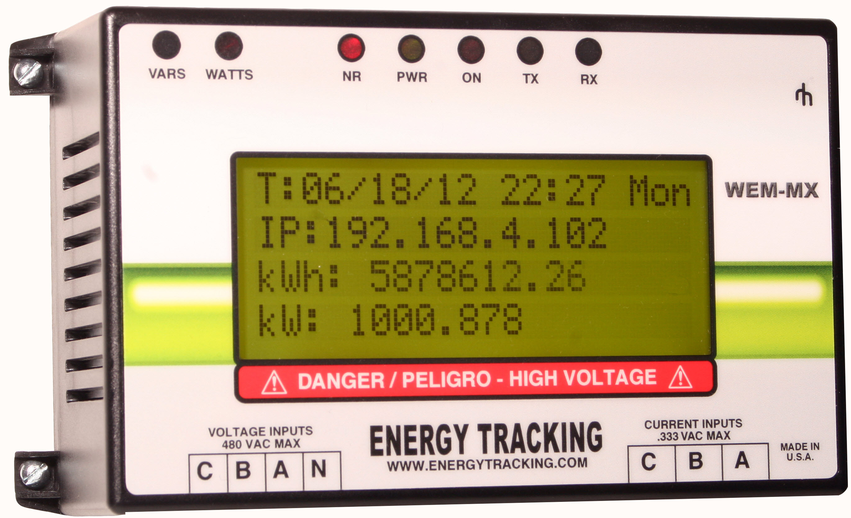 Web Enabled Meter 333mV